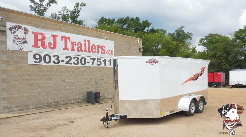 2021 Cargo Mate 7 x 14 Low Hauler Motorcycle Trailer