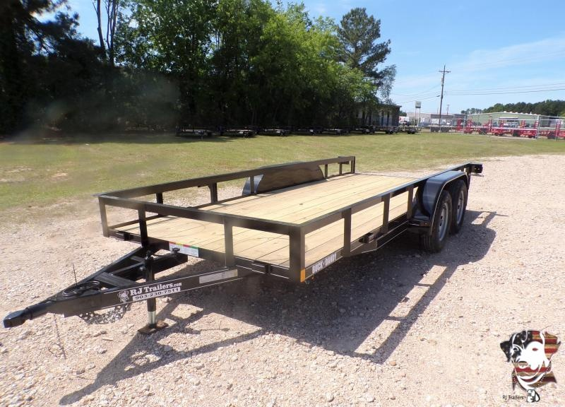 2021 Buck Dandy 77 x 16 Big Buck TA Utility Trailer