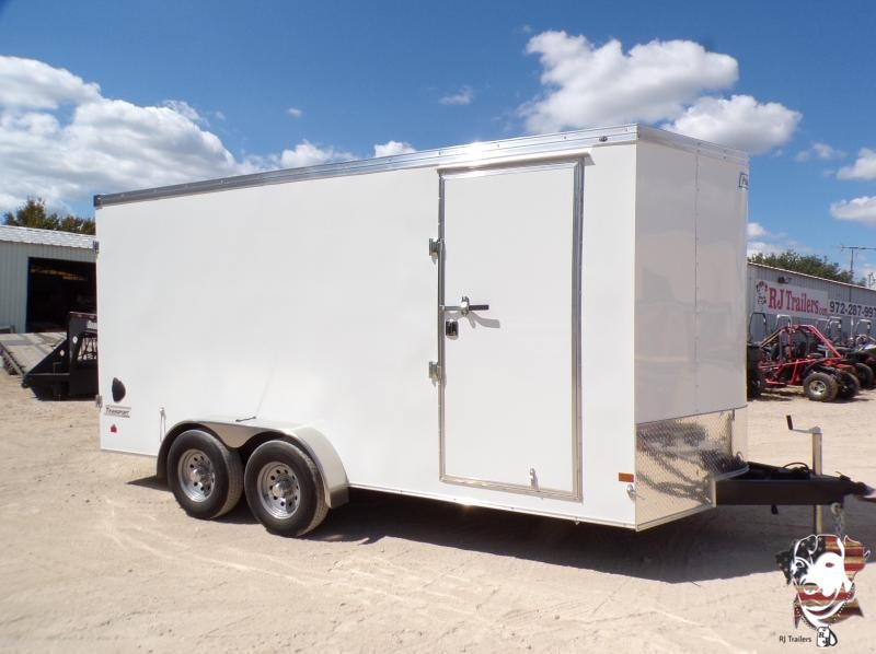 2022 Haulmark 7 x 16 Transport Enclosed Cargo Trailer