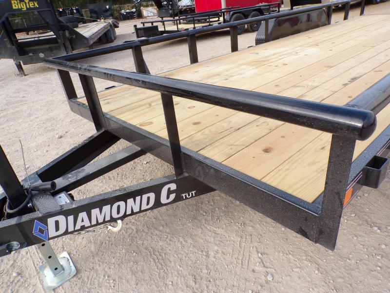 2020 Diamond C Trailers 82 x 20 TUT 252 Utility Trailer