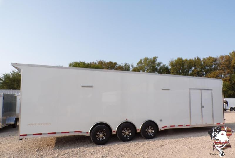 2021 Vintage 8.5 x 32  Pro Stock Series Racing Trailer