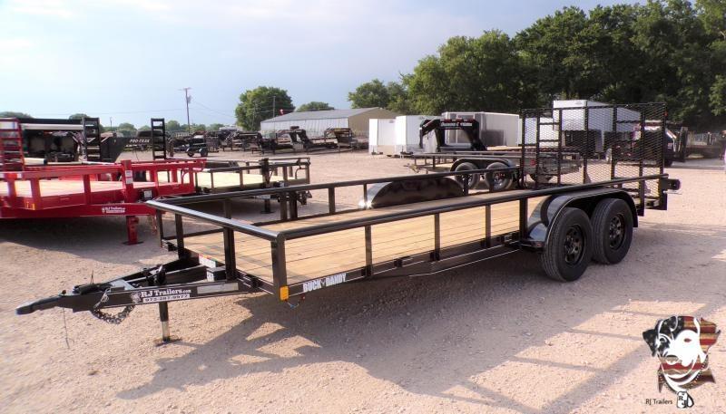 2021 Buck Dandy 83 x 18 Big Buck Utility Trailer