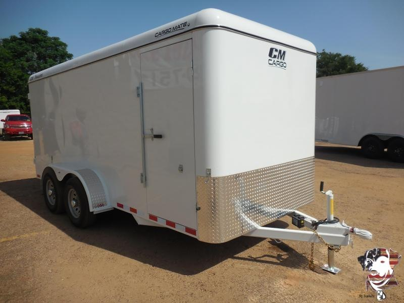 2021 CM 7x 16 Enclosed Cargo Trailer