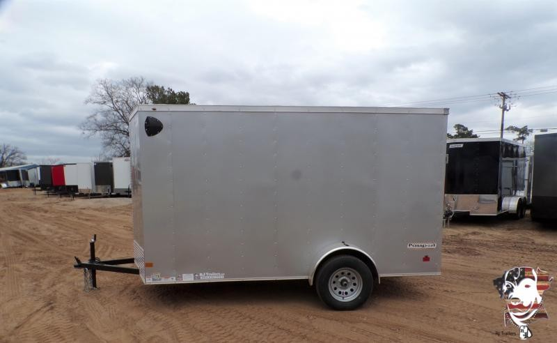 2021 Haulmark 6 x 12 Passport Deluxe SA Enclosed Cargo Trailer