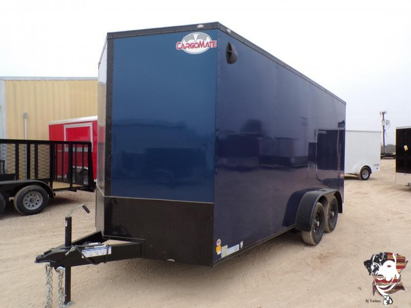 2021 Cargo Mate 7 x 16 E- Series  Enclosed Cargo Trailer