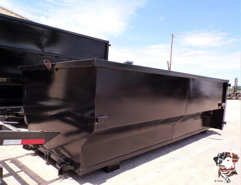 2021 Texas Pride Trailers 20 Yard Containers Material Handling