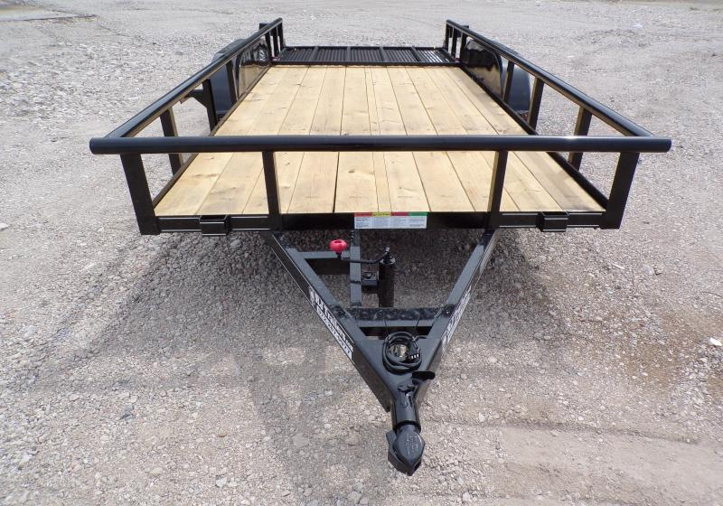 2020 Buck Dandy 77 x 16 TA Utility Trailer