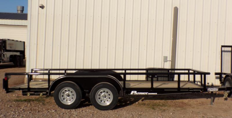 2021 TexLine 77 x 16 TA Utility Trailer
