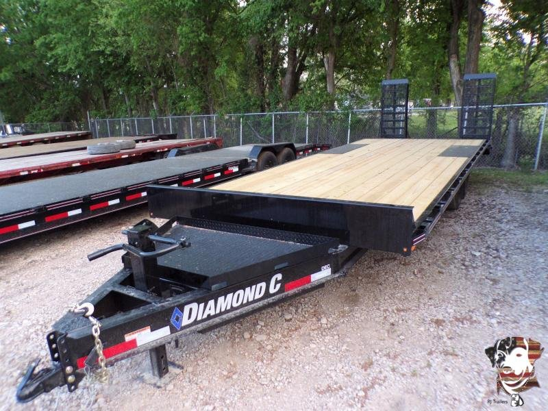 2021 Diamond C Trailers 102 x 24 DEC Equipment Trailer