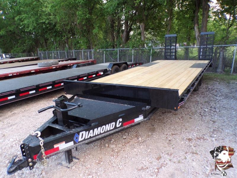 2021 Diamond C Trailers 102 x 24 DEC Equipment Trailer
