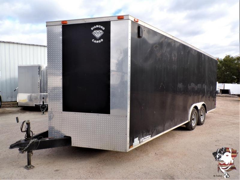 2013 Diamond Cargo 8.5 x 20 Enclosed Cargo Trailer