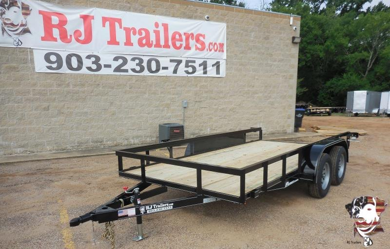 2020 77 x 14 TexLine Patriot Utility Trailer