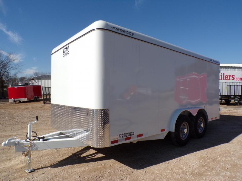 2021 CM 6'8 x 16 Enclosed Cargo Trailer