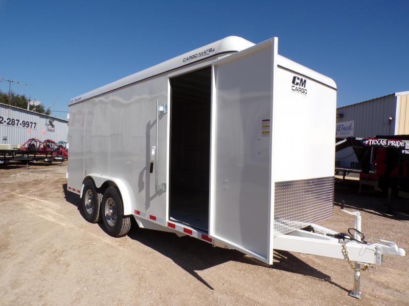 2021 CM 6'8 x 16 Enclosed Cargo Trailer