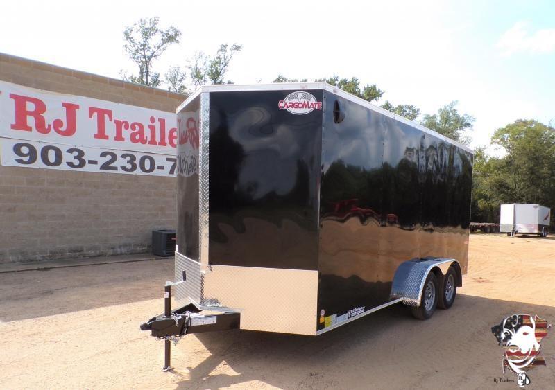 2021 Cargo Mate 7 x 16 E-Series TA Enclosed Cargo Trailer