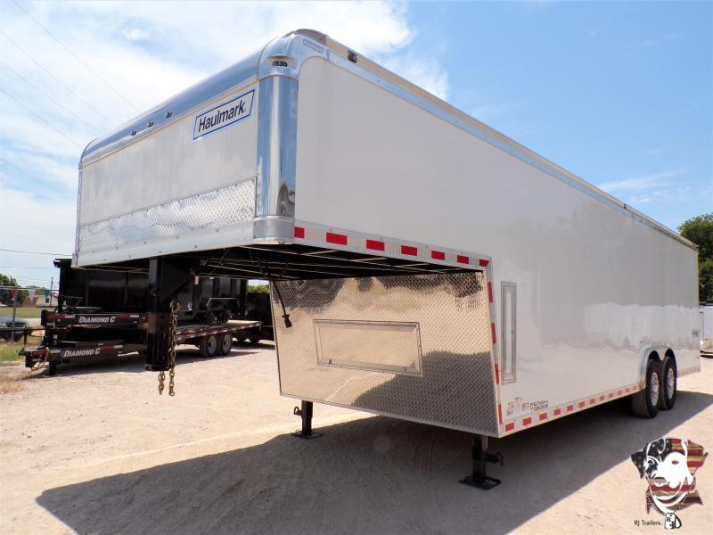 2021 Haulmark 8.5 x 32 Edge Pro Gooseneck Enclosed Cargo Trailer