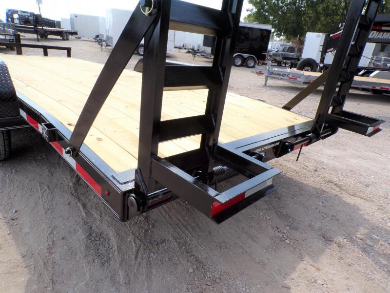 2020 TexLine 83 x 20 Equipment Bobcat Trailer