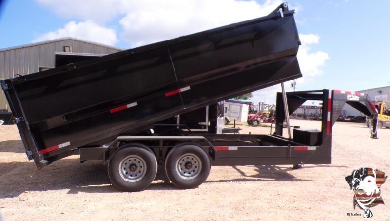 2021 Texas Pride Trailers 82 x 14 Telescopic Dump Trailer