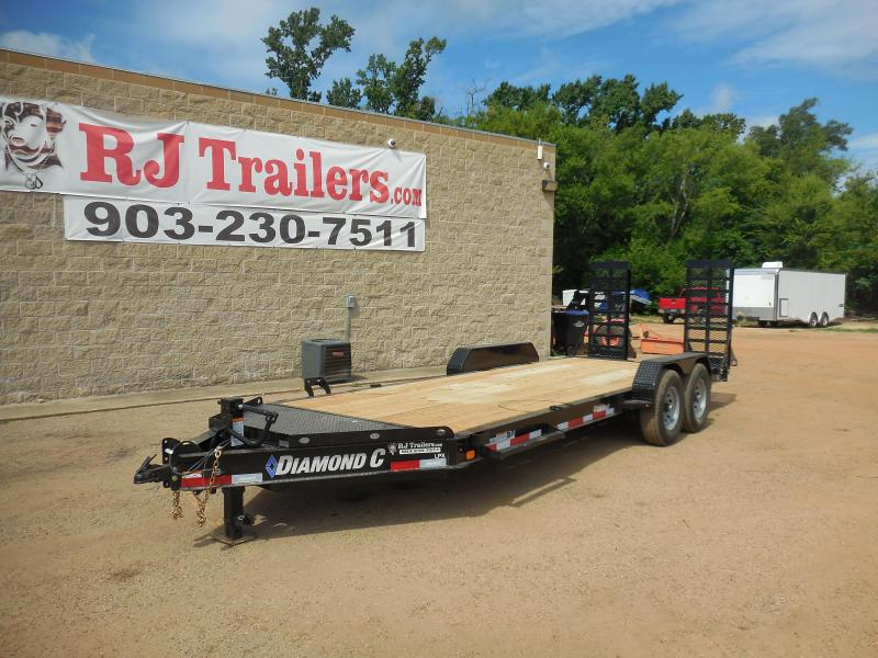 2020 Diamond C 82 x 20 LPX  Equipment Trailer