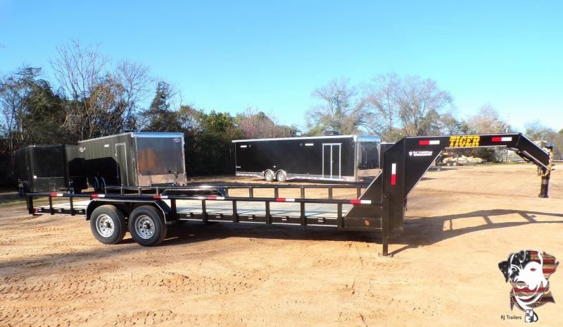 2021 Tiger 82 x 24 Gooseneck Equipment Trailer