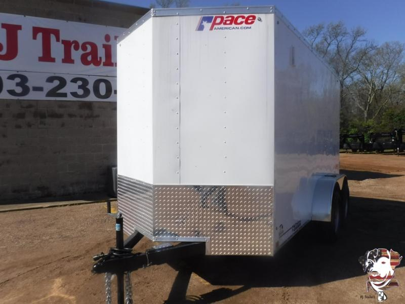 2021 Pace American 6 x 12 TA Enclosed Cargo Trailer