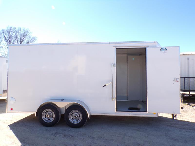 2021 Cargo Mate Cell Tech 7 x 16 Enclosed Cargo Trailer