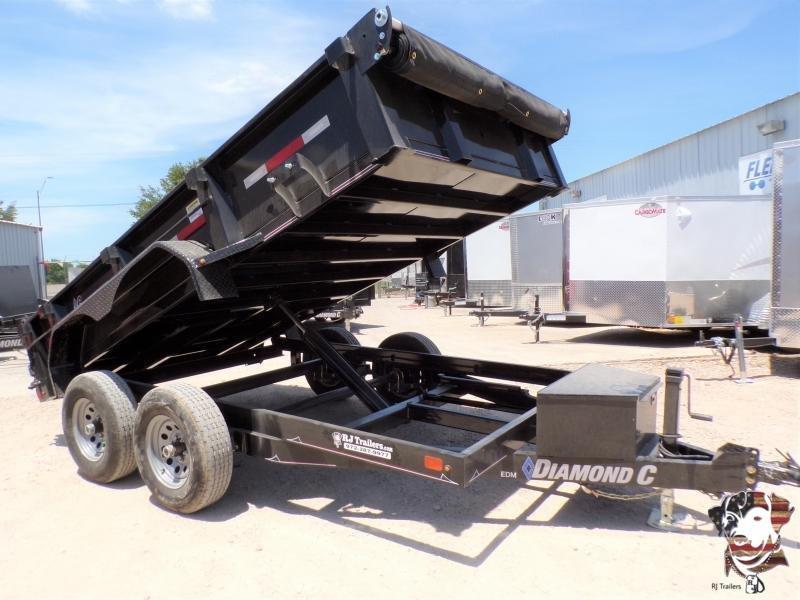 2020 Diamond C Trailers 77 x 12 EDM Dump Trailer