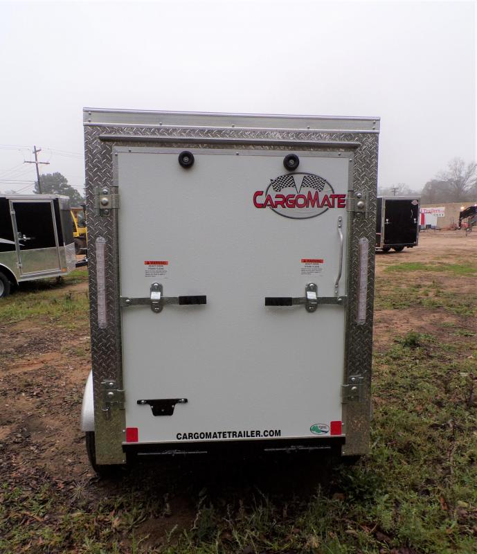 2021 Cargo Mate 4 x 6 E-series Enclosed Cargo Trailer