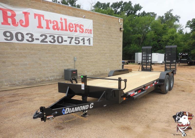 2020 Diamond C Trailers 82x22 Diamond C EQT 207 Equipment Trailer