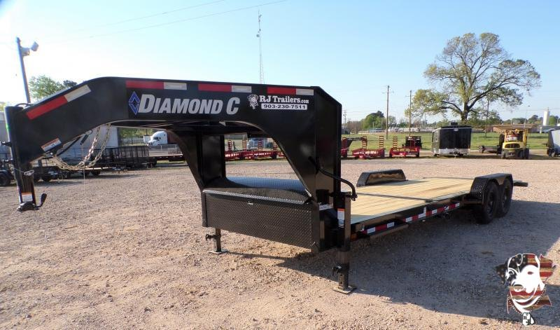 2021 Diamond C Trailers 82 x 24 HDT Equipment Trailer