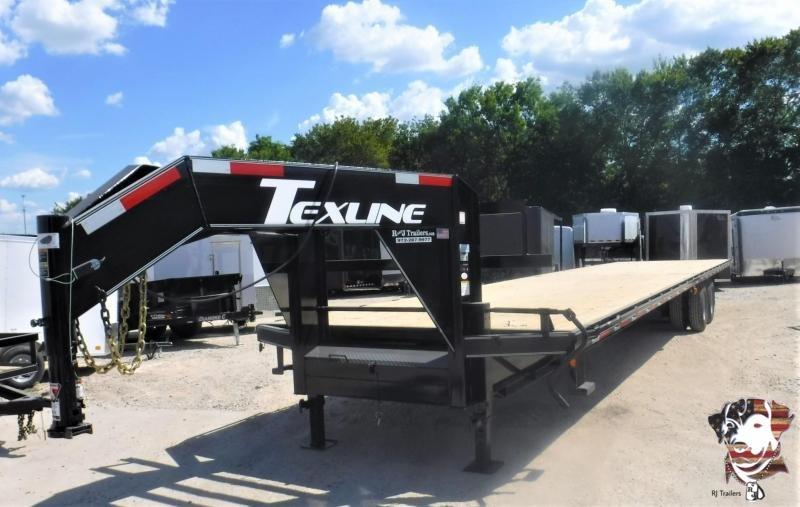 2020 TexLine 102 x 40 Tandem Dual Flatbed Trailer