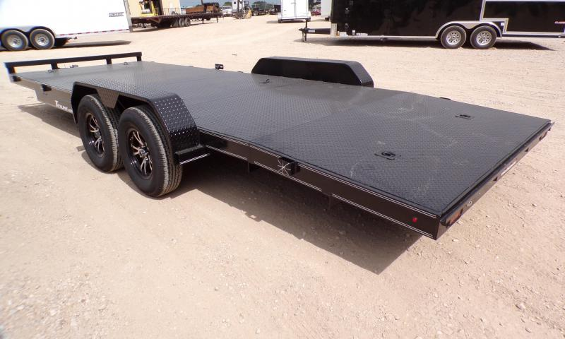 2021 TexLine 83 x 22 Deluxe Car Hauler Trailer