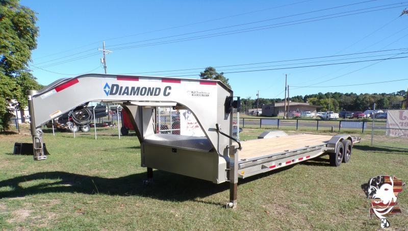 2021 Diamond C Trailers 82 x 28 LPX Equipment Trailer