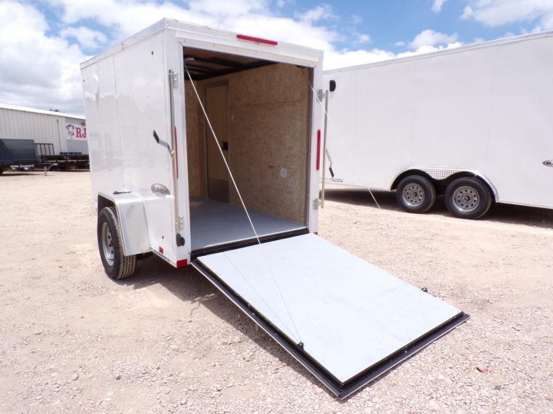 2021 Look Trailers 5 X 8 Element Enclosed Cargo Trailer