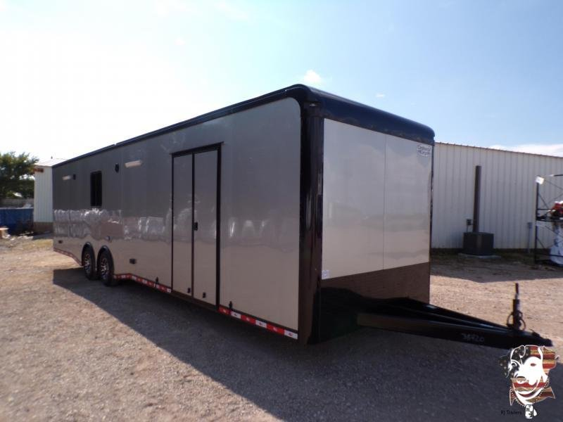 2021 Continental Cargo  8.5 x 34 Auto Master Super Stock EliminatorEliminator Car / Racing Trailer