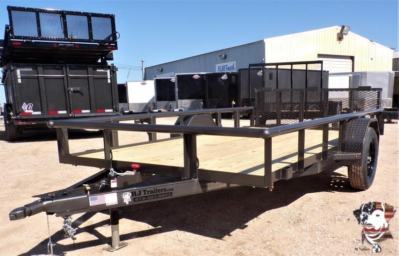2021 TexLine 77 x 12 Stealth Utility Trailer