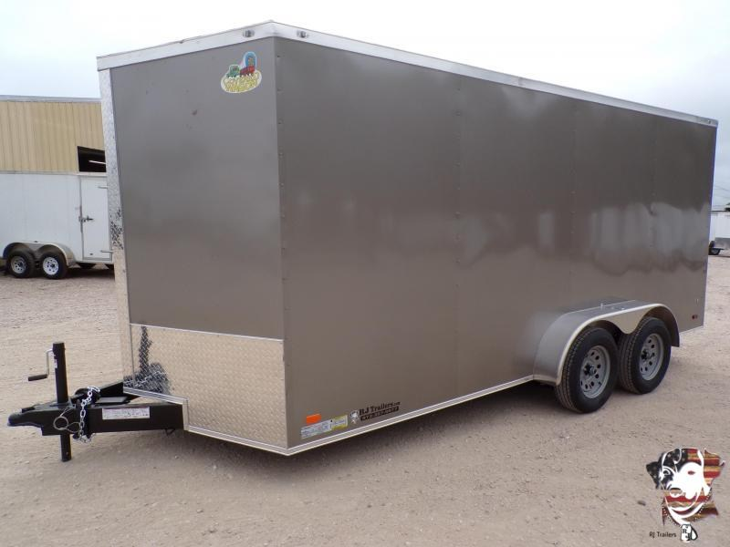 2021 Covered Wagon Trailers 7 x 16 Gold Series Enclosed Cargo Trailer