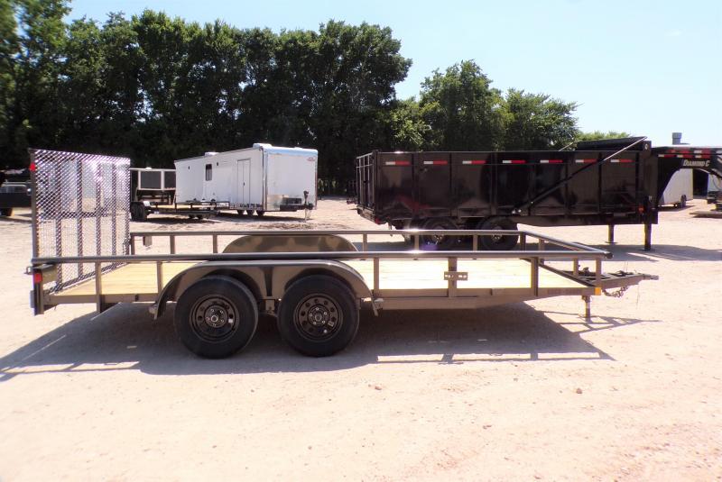 2021 Buck Dandy TA 77x16 Big Buck Utility Trailer