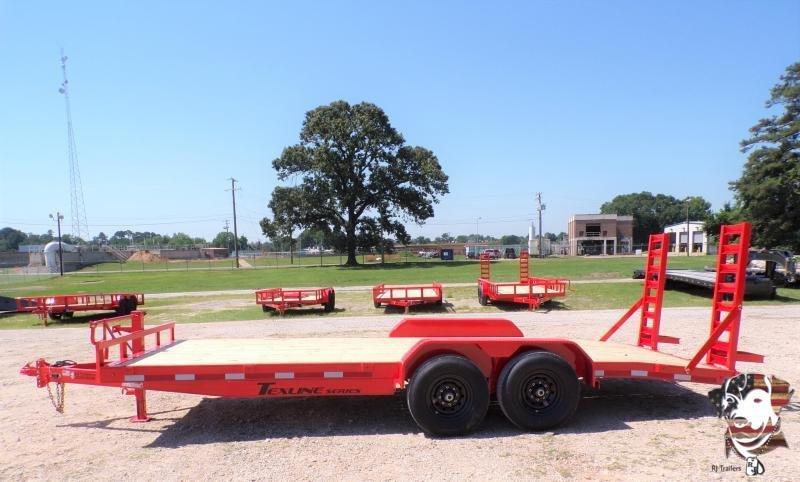 2021 TexLine 83 x 20 Bobcat / Equipment Trailer