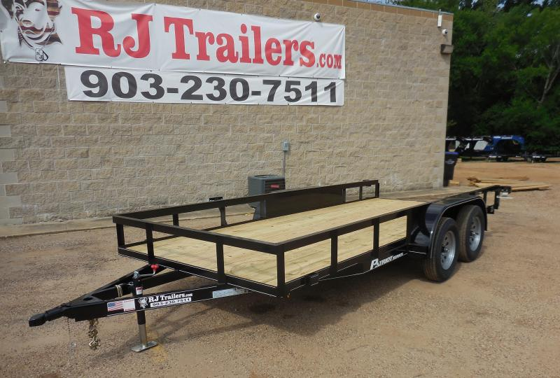 2020 77 x 16 TexLine Patriot Utility Trailer