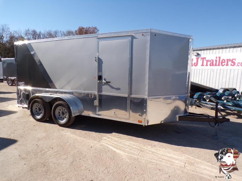 2020 Look Trailers 7x14 Motorcycle Trailer