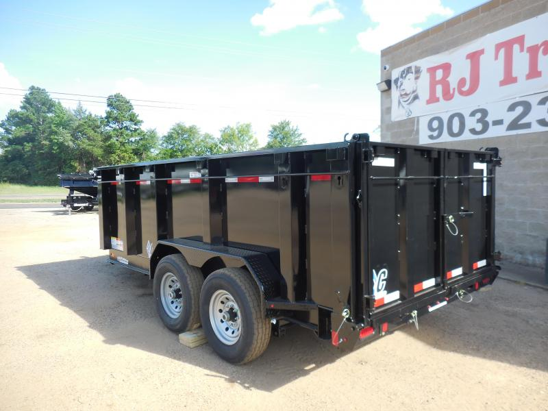 2020 Diamond C Trailers 82 x 14 LPT Telescopic Dump Trailer