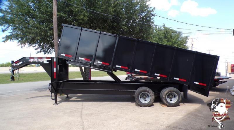 2021 Texas Pride Trailers 96 x 20 Dump Trailer
