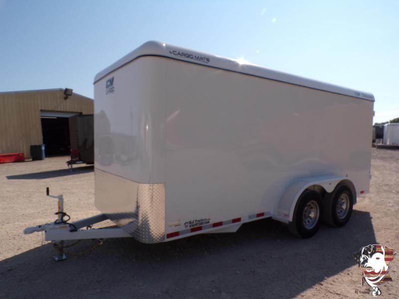 2021 CM 7x 16 Enclosed Cargo Trailer