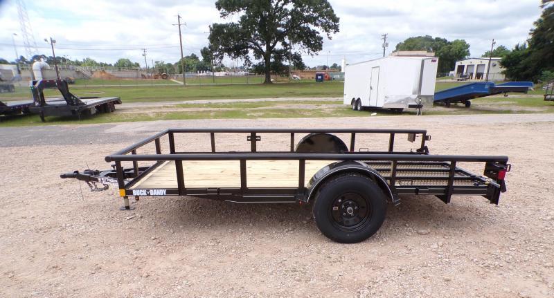 2021 Buck Dandy 77 x 12 SA Little Buck Utility Trailer