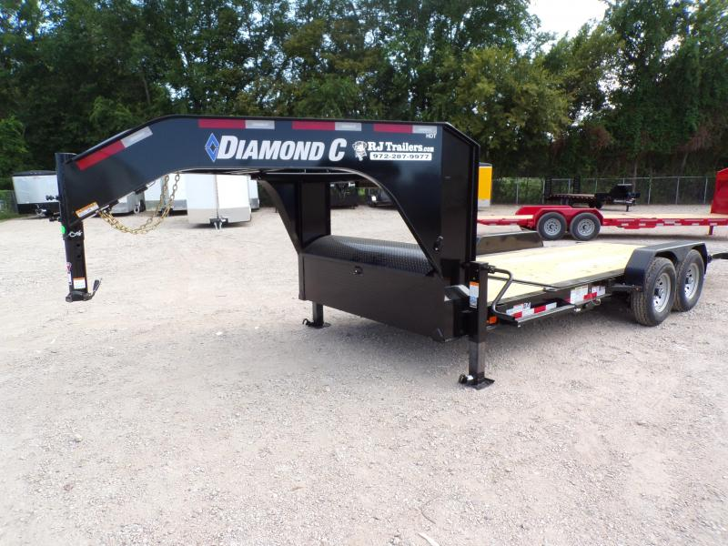 2020 Diamond C Trailers 82 x 20 HDT207 Gooseneck Equipment Trailer