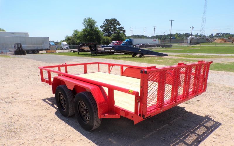 2021 TexLine 77 x 12 Stealth A12 Utility Trailer