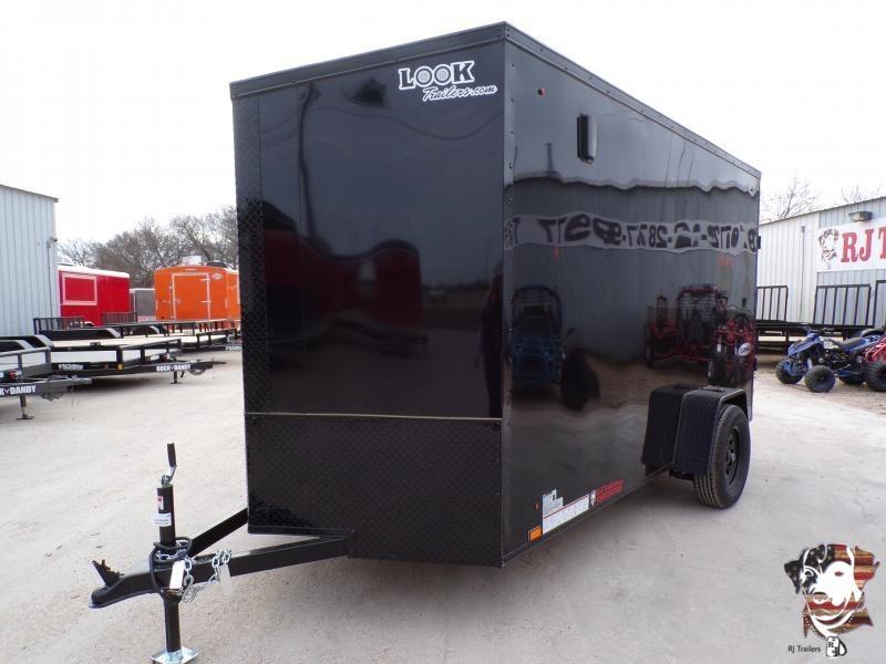 2022 Look Trailers 6 X 12 Element SE Slanted V-Nose Enclosed Cargo Trailer