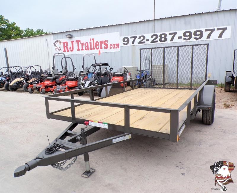 2021 Buck Dandy 77 x 12 Little Buck SA Utility Trailer