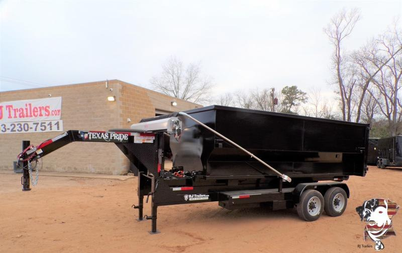 2021 Texas Pride Trailers 82 x 16 Roll-Off Dump Trailer